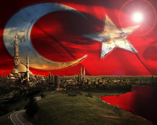 Türk Bayrağı Arkaplan, Turkish Flag Wallpaper 1500x1200