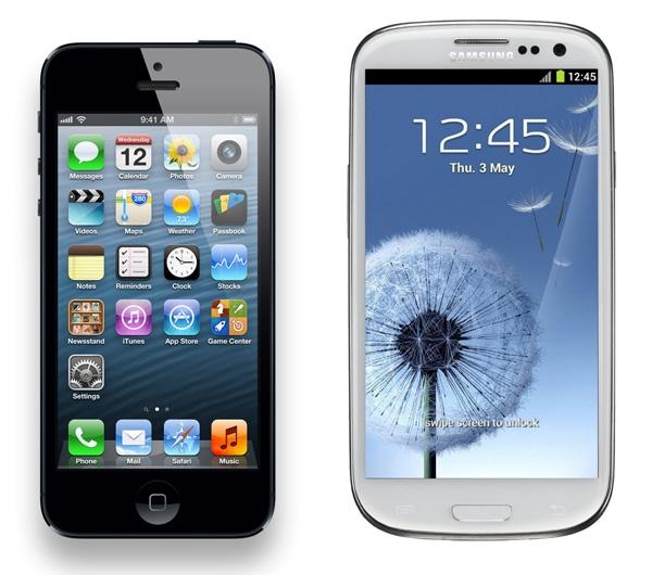 Iphone 4s iphone 5 ve samsung galaxy s3 karşılaştırma sonuçları