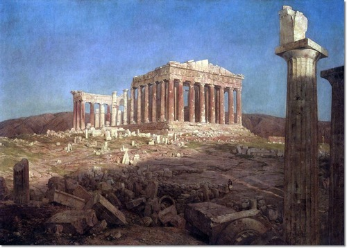 Frederic Edwin Church - The Parthenon