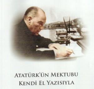 Atatürk'ün Türk Tarih Kurumu'na yazdığı mektup